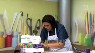 Ateliê na TV - TV Gazeta - 16.03.15 - Renata Silva