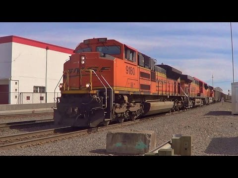 Afternoon BNSF Action in Vancouver, Washington - 4/2/16