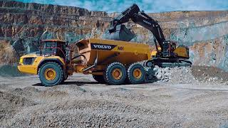 Video still for Demo of Volvo Construction Equipment Heavyweights