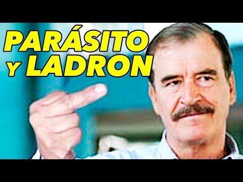 ¡ARREMETE! Le dicen PARÁSITO Y LADRON a Vicente Fox y llama PERRADA a simpatizantes de AMLO
