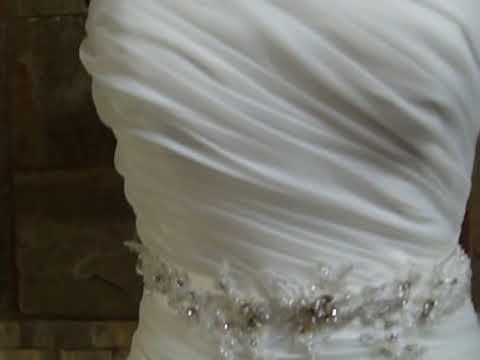 Como hacer una cola para vestido de novia