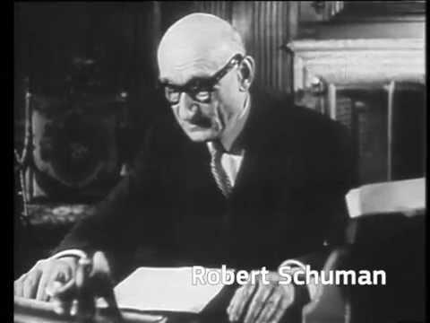 Founding fathers of the European Union: Robert Schuman