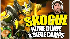 SUMMONERS WAR: Guide to SKOGUL the Wind Giant Warrior