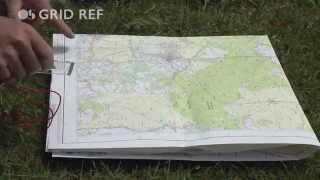 How to take a 4-figure grid reference with Steve Backshall and Ordnance Survey