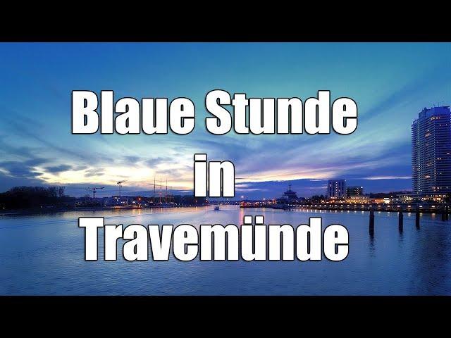 Blaue Stunde in Travemünde