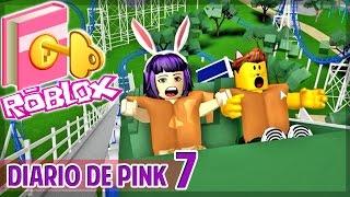 ROBLOX - Letzter Urlaubstag - Pinks Tagebuch - Rollenspiel - 7