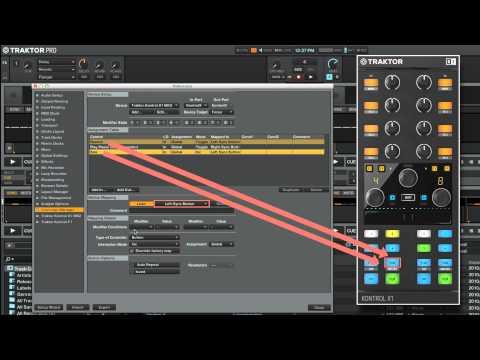 Cómo utilizar el Controller Manager en TRAKTOR: Mapeado de un controlador TRAKTOR KONTROL