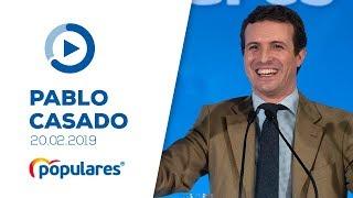 Pablo Casado clausura un acto con afiliados y simpatizantes en Soria