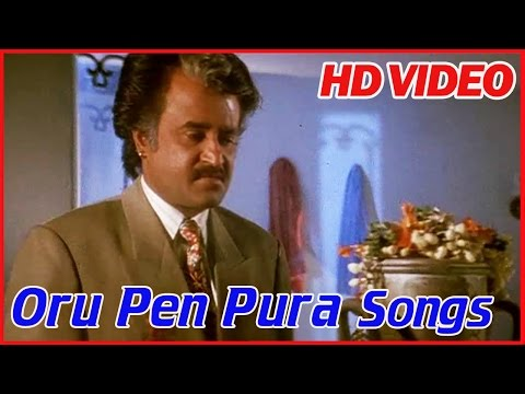 Tamil Songs | Oru Pen Pura | Annamalai Movie Songs | K.J. Yesudas Hits | Tamil Sad Songs