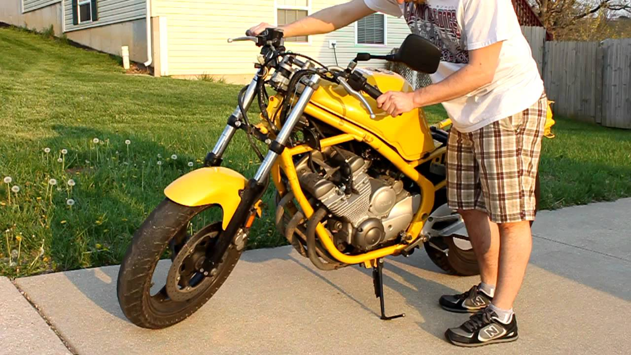 self sufficient slackers: Going Naked: XJ600 Naked