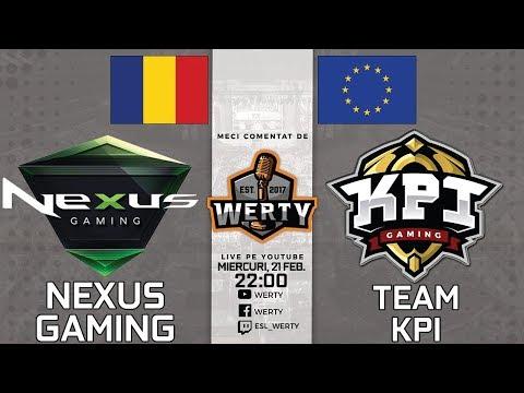 (LIVE RO CS:GO) NEXUS GAMING (RO) vs. TEAM KPI (EU) - SEMIFINALA LB THUNDERCUP $2000