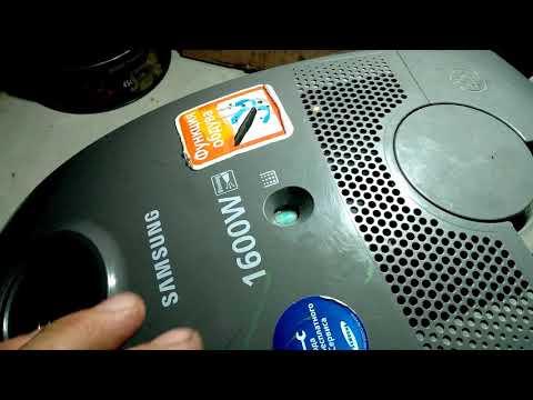 Как разобрать пылесос samsung sc5660