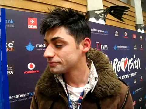 Malta National Selection 2011 - Glen Vella Interview after the Semi Final