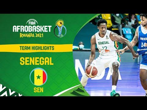 Senegal 🇸🇳   Team Highlights - FIBA AfroBasket 2021
