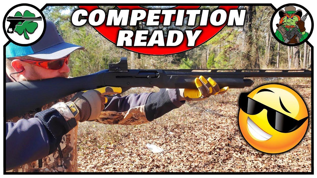 Girsan MC312 Sport Shotgun   Out Of The Box Competition Ready