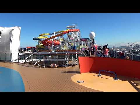 Carnival Magic Embarkation and balcony room tour