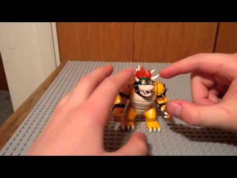 How to make a custom lego Bowser - YouTube