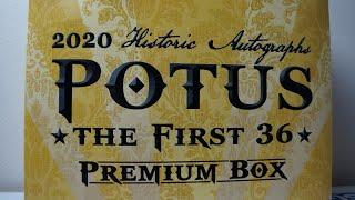 2020 Historic Autographs POTUS \