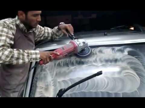 Car Glass Polish Car Detailing Amp Headlights Restore Youtube