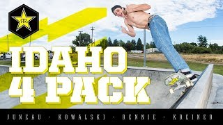 Rockstar Skate Crew | Idaho 4 Pack