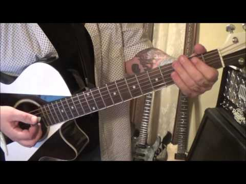Sammy Kershaw - Queen Of My Double Wide Trailer - CVT Acoustic Guitar Lesson by Mike Gross