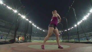 Discus   Sandra Perkovic 70 52 m   Shanghai 2014 mp4