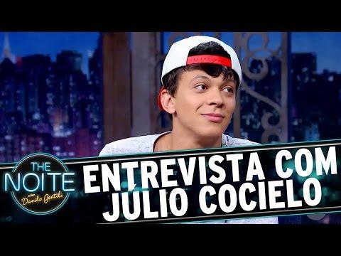 Entrevista com Júlio Cocielo  The Noite 100317