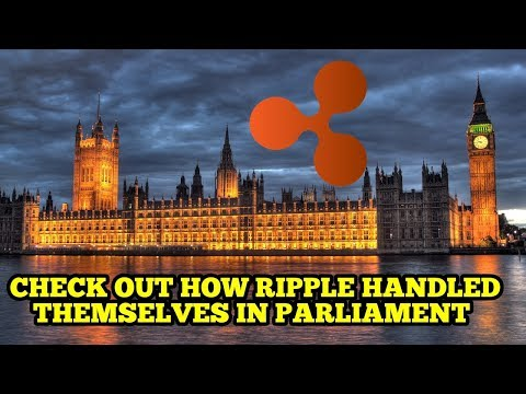 Ripple at Parliament Blockchain Hearing - Everledger