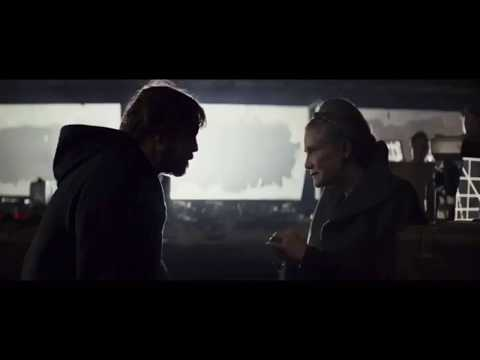Luke and Leia Reunion Scene - The Last Jedi (1080p)