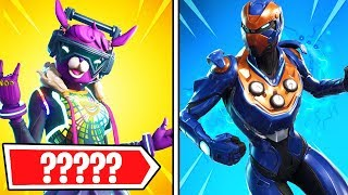 Top 10 SKINS NO ONE USES in Fortnite! (Fortnite Battle Royale)