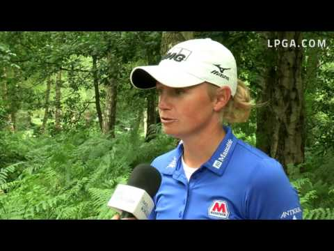 Stacy Lewis' RD1 Interview at the 2016 RICOH Women's British Open