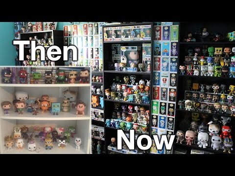 The Evolution of my Funko Pop Collection
