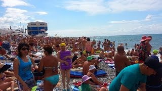 Лазаревское - 13 Сентября 2016 (Пляж, Центр)(Смотрите видео в лучшем качестве HD 1080p. Видео от наших подписчиков! Мы только смонтировали. Вступайте в..., 2016-09-14T10:10:33.000Z)