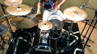 Disturbed - Ten Thousand Fists - Drum Cover (Felipe Drum solo)