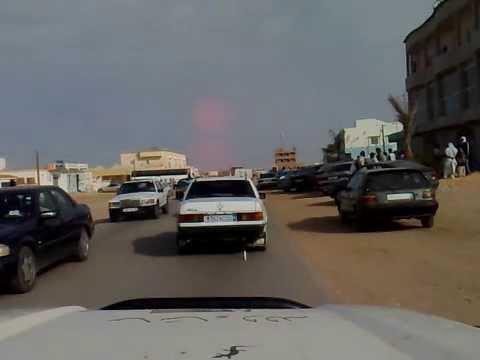 Driving in Nouakchott Mauritania - part 8