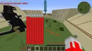 Minecraft ภาคพิสดาร แก้มือ อุลตร้าแมน Vs ก็อตซิลล่า