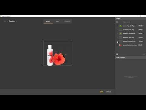 Parallax Overview Google Web Designer Youtube