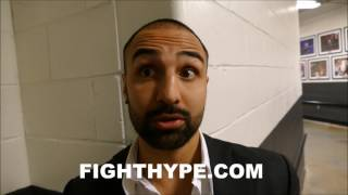 PAULIE MALIGNAGGI SOUNDS OFF ON CANELO VS. CHAVEZ JR.; EXPLAINS WHY HE'S NOT EXCITED ABOUT IT