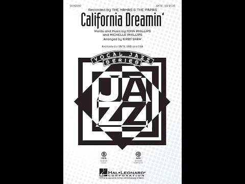 California Dreamin' - Arranged by Kirby Shaw