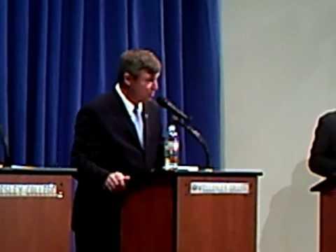 Earl Sholley-Barney Frank- Susan Allen Debate - Part Four