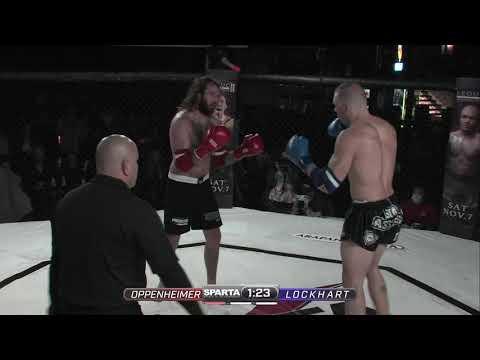 Sparta Wyoming 4 Oppenheimer vs Lockhart Muay Thai
