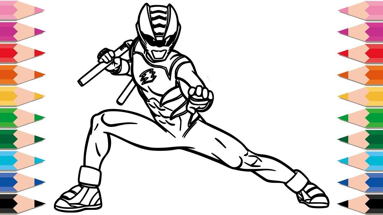 Gambar Mewarnai Power Ranger Ninja Mewarnai Cerita Terbaru Lucu Sedih Humor Kocak Romantis