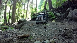 Jrp Rc - The King Hauler 6x6 Moving The Rock Pile Pt. 1