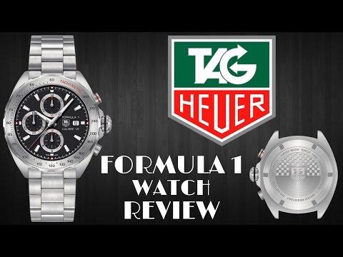 TAG HEUER FORMULA 1 MEN'S WATCH REVIEW MODEL: CAZ2010-BA0876