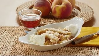 Peach Recipes - How To Make Old Fashioned Peach Cobbler