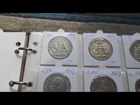 Chinese Pandas and old German Silver Coins