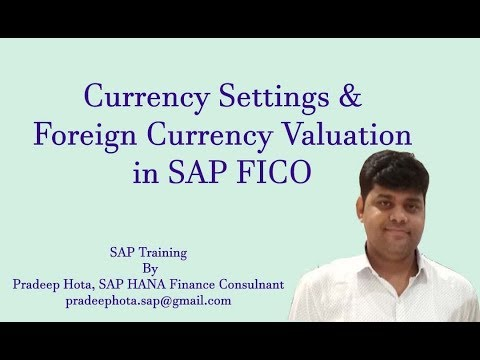 Forex revaluation in sap