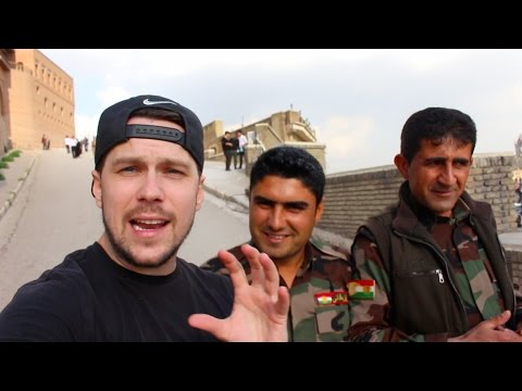 I GOT DETAINED IN ERBIL - IRAQI KURDISTAN 1/2