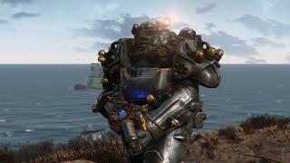Fallout 4 Automatron - новая силовая броня Теслы