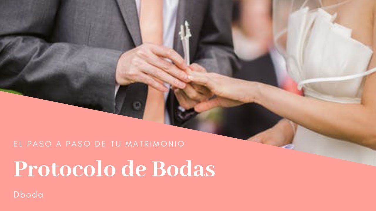 Protocolo recepcion de boda colombia